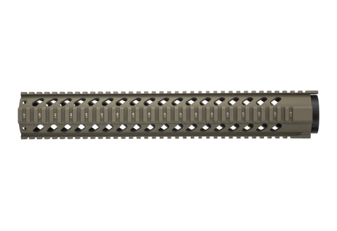 AR-15 Quad Rail Handguard - 15 inch | Free Float | Flat Dark Earth