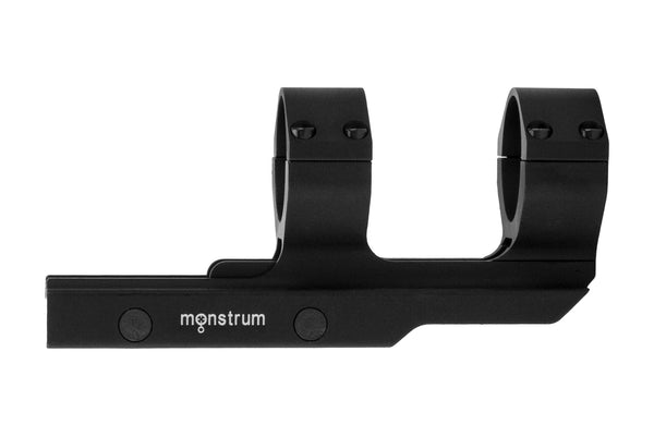 Monstrum Tactical Heavy Duty Offset 30mm Cantilever Adjustable Dual Ring Scope Mount