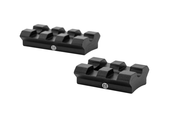 Ruger 10/22 Modular Picatinny Rail Mounting Set | Includes Front and Rear Section