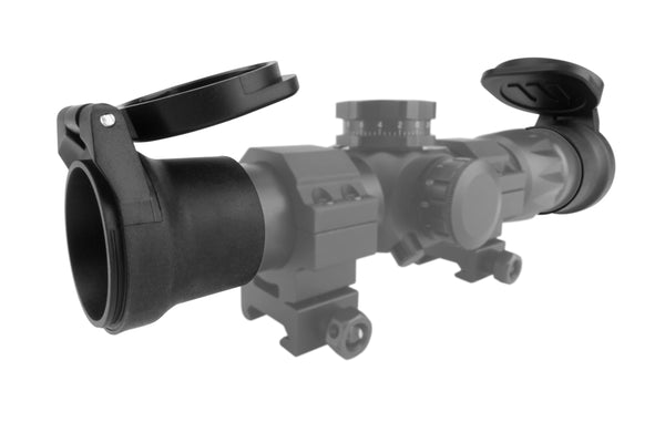 Monstrum Tactical Flip-Up Rifle Scope Lens Covers