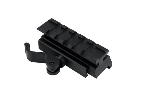 5 Slot/2.5in Medium Profile Lockdown Series High Performance Riser Mount with Quick Release