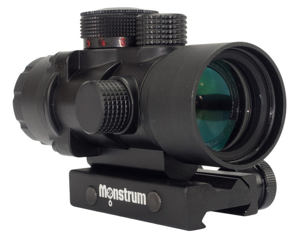 S232P 2x32 Compact Prism Scope - Rifle Scopes - Monstrum Tactical - 1