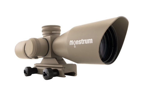 3-9x40 Tactical Rifle Scope - Range Finder Reticle - FDE - Rifle Scopes - Monstrum Tactical - 1