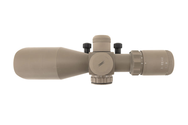 3-9x40 Tactical Rifle Scope - Range Finder Reticle - FDE - Rifle Scopes - Monstrum Tactical - 3