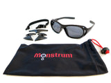 TS02 Tactical Sunglasses with Detachable Side Shields -  - Monstrum Tactical - 4