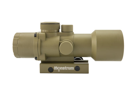 S536P 5x36 Compact Prism Scope - Flat Dark Earth - Rifle Scopes - Monstrum Tactical - 3