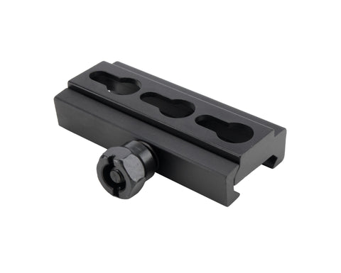 Picatinny to Keymod Rail Adaptor - Quad Rails - Monstrum Tactical - 1