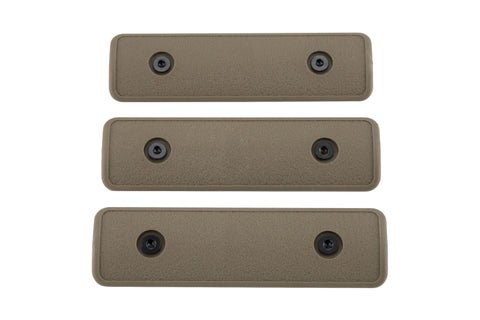 Keymod Rail Panels, 4 inch | Pack of 3 | Flat Dark Earth - Accessories - Monstrum Tactical - 1