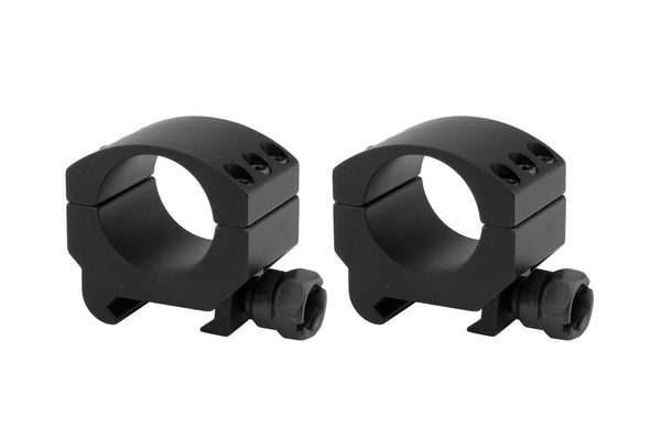 1 inch Lockdown Series High Performance Scope Rings | Picatinny/Weaver Mount | Low Profile - Accessories - Monstrum Tactical - 1