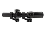 Offset Reversible 30 mm Rifle Scope Rings, Picatinny Rail Mount - Accessories - Monstrum Tactical - 2