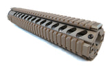 Picatinny Ladder Rail Covers - 11 inch | 4 Pack | Flat Dark Earth - Accessories - Monstrum Tactical - 3