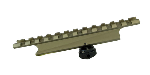 Picatinny Rail Mount for AR-15 Carry Handles - Flat Dark Earth - Accessories - Monstrum Tactical