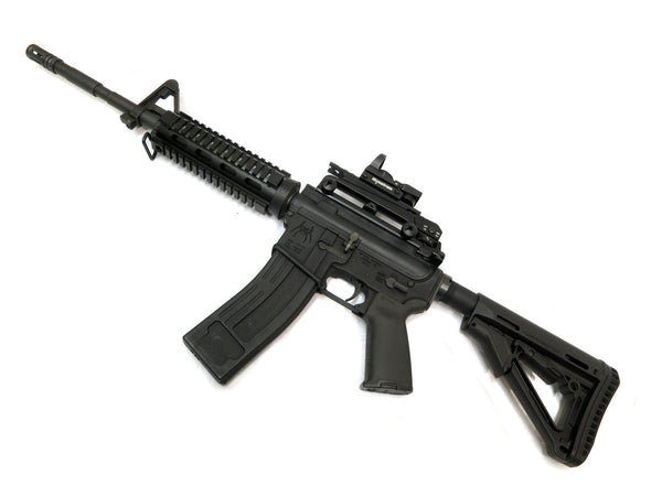 AR-15 Carry Handle with A2 Rear Sight and Optics Rail Mount - Black - Accessories - Monstrum Tactical - 5