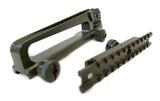 AR-15 Carry Handle with A2 Rear Sight and Optics Rail Mount - OD Green - Accessories - Monstrum Tactical - 1