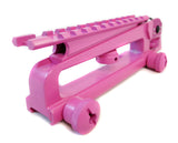 AR-15 Carry Handle with A2 Rear Sight and Optics Rail Mount - Pink - Accessories - Monstrum Tactical - 2
