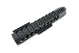 AR-15 Keymod Rail Handguard - 10 inch | Free Float | Black - Quad Rails - Monstrum Tactical - 3