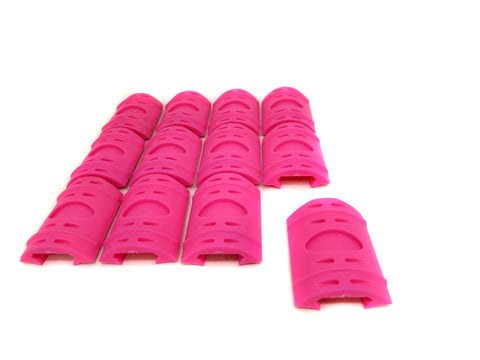 Picatinny Rail Covers - 2 inch | 12 Piece Set | Pink - Accessories - Monstrum Tactical - 1