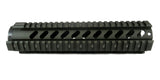 AR-15 Quad Rail Handguard - 10 inch | Free Float | Olive Drab Green - Quad Rails - Monstrum Tactical - 3