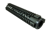 AR-15 Quad Rail Handguard - 10 inch | Free Float | Olive Drab Green - Quad Rails - Monstrum Tactical - 1