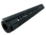 AR-15 Quad Rail Handguard - 16.5 inch | Free Float | Black - Quad Rails - Monstrum Tactical - 1