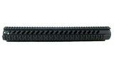 AR-15 Quad Rail Handguard - 16.5 inch | Free Float | Black - Quad Rails - Monstrum Tactical - 2