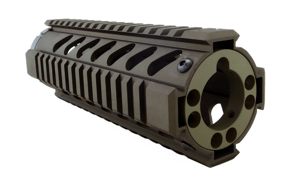 End Cap for AR-15 Free Float Quad Rail/KeyMod Handguards - Olive Drab Green - Quad Rails - Monstrum Tactical - 2