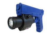 10R Combination Flashlight/Red Laser Sight with Rail Mount - Optics - Monstrum Tactical - 1