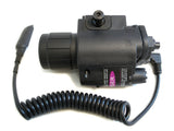 10R Combination Flashlight/Red Laser Sight with Rail Mount - Optics - Monstrum Tactical - 3