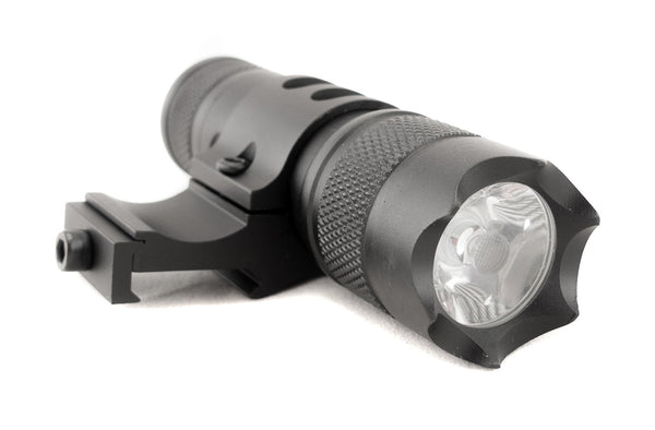 150 Lumens Flashlight with Detachable Remote Pressure Switch and Offset Rail Mount - Optics - Monstrum Tactical - 1