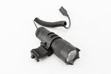 150 Lumens Flashlight with Detachable Remote Pressure Switch and Offset Rail Mount - Optics - Monstrum Tactical - 2