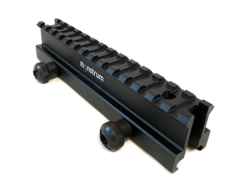 High Profile Picatinny Riser Mount for Scopes and Optics - Accessories - Monstrum Tactical - 1