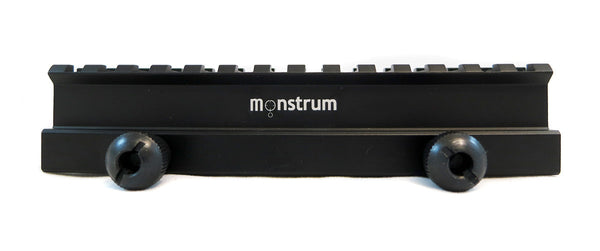 High Profile Picatinny Riser Mount for Scopes and Optics - Accessories - Monstrum Tactical - 2