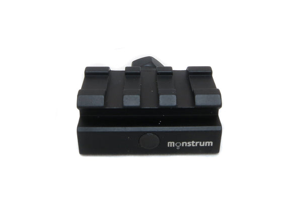 Low Profile Picatinny Riser Mount for Red Dots and Optics - Accessories - Monstrum Tactical - 2