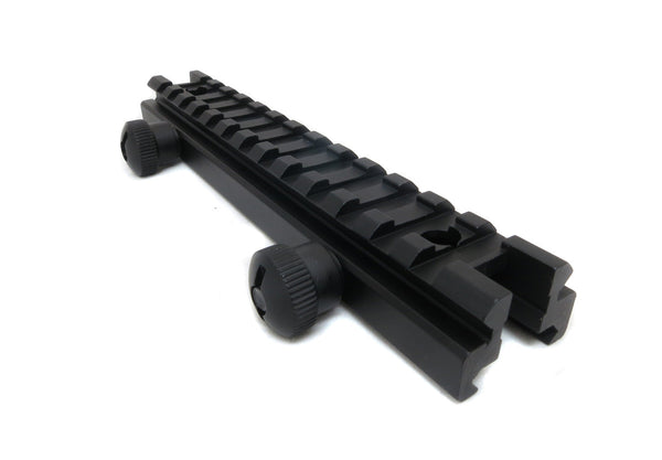Low Profile Picatinny Riser Mount for Scopes and Optics - Accessories - Monstrum Tactical - 1