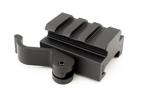 Low Profile Picatinny Red Dot Sight Riser Mount with Quick Release - Accessories - Monstrum Tactical - 1