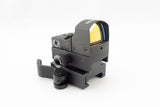 Low Profile Picatinny Red Dot Sight Riser Mount with Quick Release - Accessories - Monstrum Tactical - 3