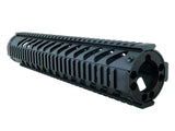 End Cap for LR-308 Free Float Quad Rail/KeyMod Handguards - Black - Quad Rails - Monstrum Tactical - 3