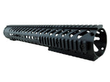 LR-308 Keymod Rail Handguard - 16.5 inch | Free Float | Black - Quad Rails - Monstrum Tactical - 3