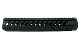 LR-308 Quad Rail Handguard - 12 inch | Free Float | Black - Quad Rails - Monstrum Tactical - 2