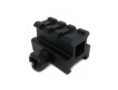 Medium Profile Picatinny Riser Mount for Red Dots and Optics - Accessories - Monstrum Tactical - 1