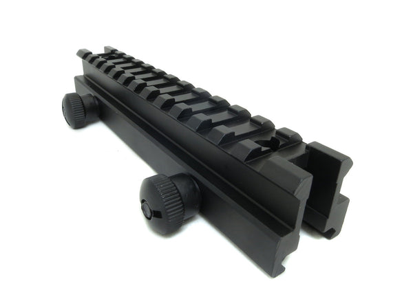 Medium Profile Picatinny Riser Mount for Scopes and Optics - Accessories - Monstrum Tactical - 1