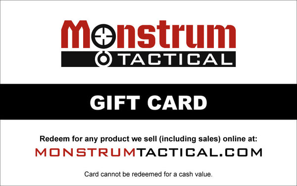 Monstrum Tactical Gift Card