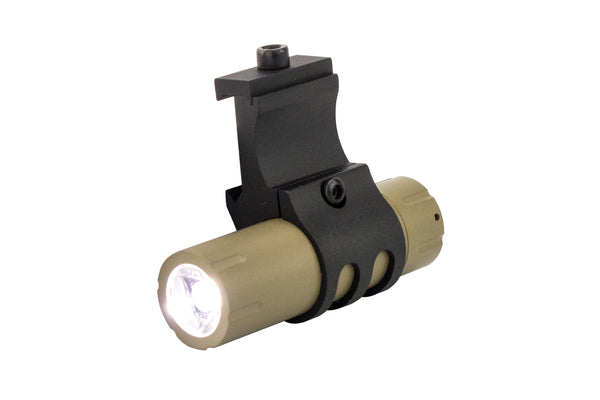 Ultra-Compact 100 Lumen LED Flashlight - FDE