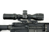 Offset Reversible 1 inch Diameter Rifle Scope Rings | Black - Accessories - Monstrum Tactical - 2