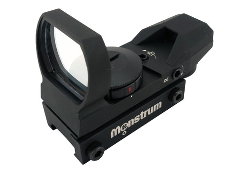 R01C Compact Red/Green Dot Sight | Black - Optics - Monstrum Tactical - 1