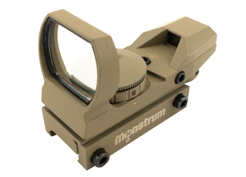 R01C Compact Red/Green Dot Sight | Flat Dark Earth - Optics - Monstrum Tactical - 1