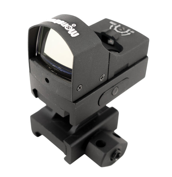 R02 Compact Red Dot Sight with 1 inch Picatinny Riser Mount - Optics - Monstrum Tactical - 1