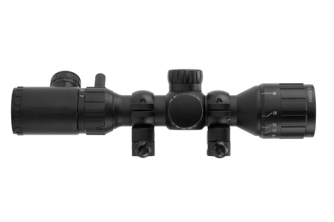2-7x32 AO Rifle Scope - Illuminated Rangefinder Reticle