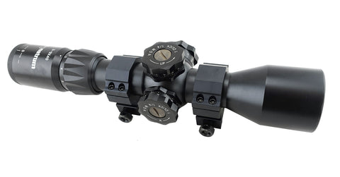 3-9x40 First Focal Plane Rifle Scope - Adjustable Objective and Range Finder Reticle - Rifle Scopes - Monstrum Tactical - 1