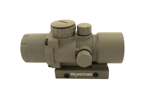 S330P 3x30 Compact Prism Scope - Flat Dark Earth - Rifle Scopes - Monstrum Tactical - 2